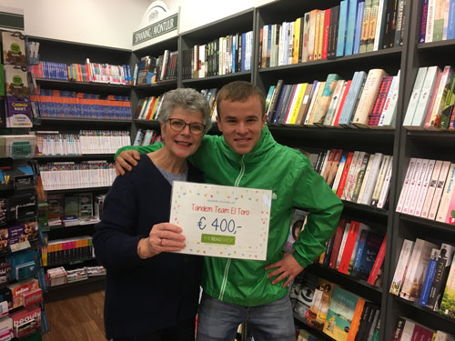The Read Shop Hedel schenkt 400 euro